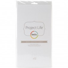 Refil plástico - Project Life Photo Pocket Pages Design H