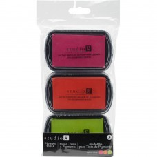 Carimbeira - Studio G Pigment Ink Pads 3/Pkg Warmth