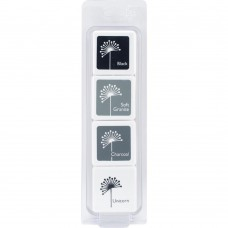 Kit de Carimbeira - Hero Arts Dye Ink Cubes  Blackboard