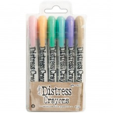 Distress Crayon - Tim Holtz Distress Crayon Set #5
