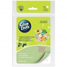 "Cola de silicone - Glue Dots Clear Dot Sheets Mini .1875"" 252/Pkg"