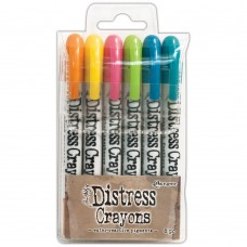 Distress Crayon - Tim Holtz Distress Crayon Set #1
