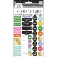Adesivo - Happy Planner Stickers 5/Sheets Happy School College