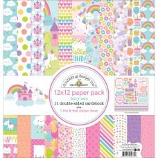 Kit de papéis - Doodlebug Double-Sided Paper Pack  Fairy Tales