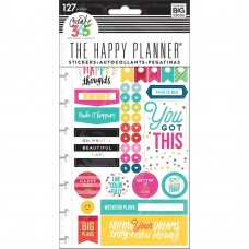 Adesivo - Happy Planner Stickers 5/Sheets Happy Brights