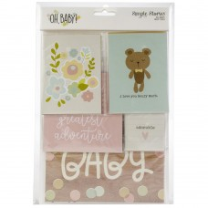 Cards - Simple Stories Sn@p! Card Pack 48/Pkg Oh Baby!