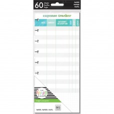 Refil Happy planner - Happy Planner Medium Half Sheet Fill Paper  Expense Tracker