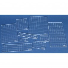 Bloco de acrílico - Tim Holtz Acrylic Stamping Grid Blocks 9/Pkg