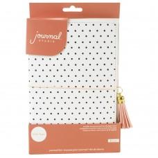 Diário de viagem - American Crafts Journal Studio Kit Dot By Crate Paper