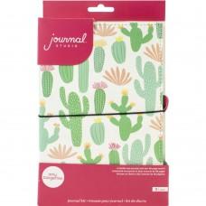 Diário de viagem - American Crafts Journal Studio Kit Cactus By Amy Tangerine