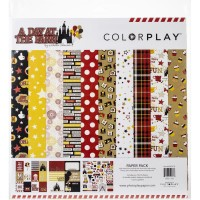 Kit de papéis - ColorPlay Collection Pack  A Day At The Park