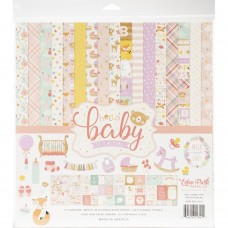 Kit de papéis - Echo Park Collection Kit  Hello Baby Girl