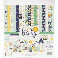 Kit de papéis - Echo Park Collection Kit  Hello Baby Boy
