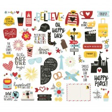 Recortes em cardstock - Say Cheese 4 Bits & Pieces Die-Cuts 54/Pkg