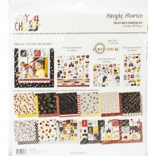 Kit de papel - Simple Stories Collector's Essential Kit  Say Cheese