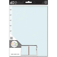 Refil Happy Planner - Happy Planner Medium Fill Paper  Happy Journal Dot Grid