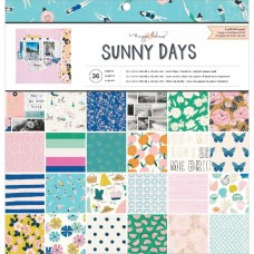 Bloco de Papel - Crate Paper Single-Sided Paper Pad  Maggie Holmes Sunny Days