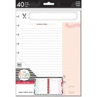 Refil Happy Planner - Happy Planner Medium Fill Paper  Recipe
