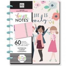 Caderno de disco - Happy Planner Medium Notebook Squad Life, Lined