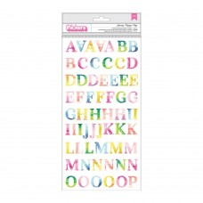 Alfabeto - Paige Evans Horizon Thickers Stickers