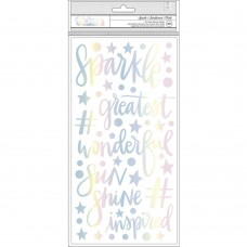 Adesivo - Shimelle Sparkle City Thickers Stickers  Sparkle