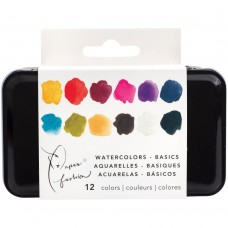 Aquarela - Paper Fashion Basic Watercolors Paint Set