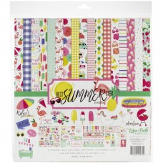 Kit de papéis - Echo Park Collection Kit Best Summer Ever