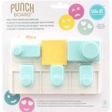 Furador - We R Memory Keepers Emoji Punch Board
