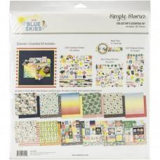 Kit de papel - Simple Stories Collector's Essential Kit  Sunshine & Blue Skies