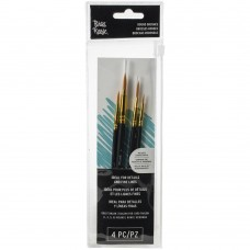 Pincel - Brea Reese Paint Brush Set Round 4/Pkg