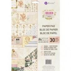Bloco de Papel - Prima Marketing Double-Sided Paper Pad A4 30/Pkg Golden Coast