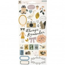 Adesivo - Maggie Holmes Heritage Cardstock Stickers