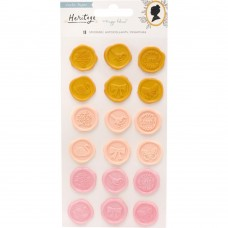 Enfeite - Maggie Holmes Heritage Plastic Puffy Stickers