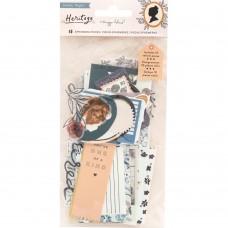 Recortes em cardstock - Maggie Holmes Heritage Cardstock & Vellum