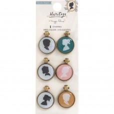 Pingente - Maggie Holmes Heritage Charm Embellishments