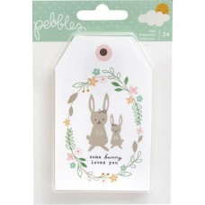 Enfeite - Peek-A-Boo You Girl Cardstock Tags 24/Pkg Girl