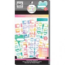 Adesivo - Happy Planner Sticker Value Pack Layered Boxes, 356/Pkg