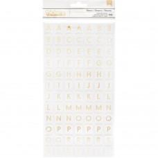 Alfabeto -  Happy Cake Day Thickers Stickers  Alpha/Foam
