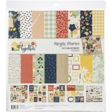 Kit de papel - Simple Stories Collection Kit  So Happy Together