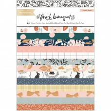 Bloco de Papel - Crate Paper Single-Sided Card Making Pad  Fresh Bouquet