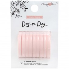 Disco - Maggie Holmes Day-To-Day Planner Discs Blush
