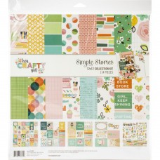 Kit de papel - Simple Stories Collection Kit  Hey, Crafty Girl