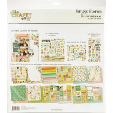 Kit de papel - Simple Stories Collector's Essential Kit  Hey, Crafty Girl