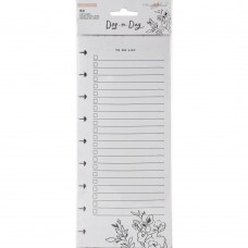 Refil Day to Day Planner - Maggie Holmes Day-To-Day  Shopping & To-Do List