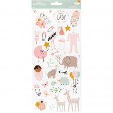 Adesivo - Peek-A-Boo You Cardstock Stickers Girl