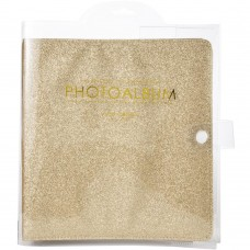 Álbum - Color Crush Small Creative Photo Album Golden Glitter