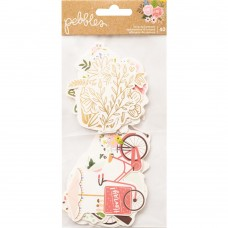 Recortes em cardstock - Lovely Moments Ephemera Cardstock Die-Cuts