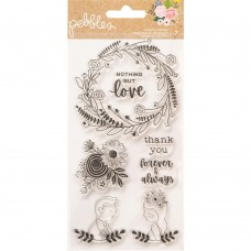Carimbo - Pebbles Lovely Moments Clear Stamps