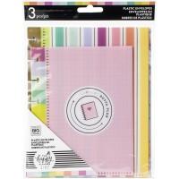 Envelope - Happy Planner Plastic Envelopes 3/Pkg Multicolor