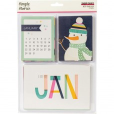 Cards - Simple Stories Sn@p! Card Pack  Best Year Ever